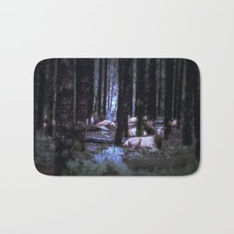 Faces in the Woods mod Bath Mat