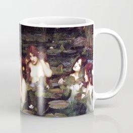 Hylas and the Nymphs,  John William Waterhouse Coffee Mug
