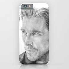 Christian Bale Traditional Portrait Print Slim Case iPhone 6s