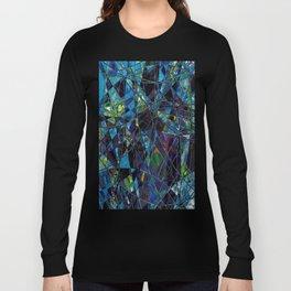 Fragments- Blue Mosaic  Long Sleeve T-shirt