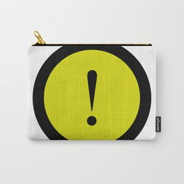 warning sign Carry-All Pouch