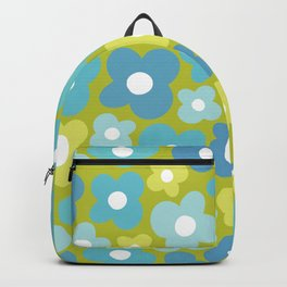 Bright Lime Flower Power Backpack