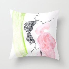 Scandi Micron Art Design | 170412 Telomeres Healing 3 Throw Pillow