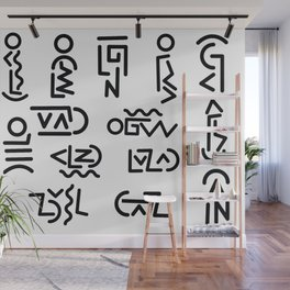 Symbology Wall Mural