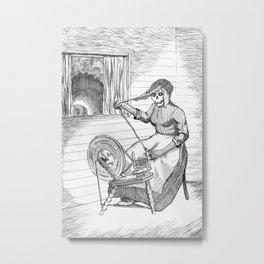 Witch Woman Metal Print