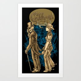 Coattails Art Print