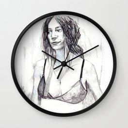 Patti Smith,  the godmother of punk. Patti, la madrina del pu Wall Clock