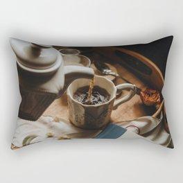 Tea Service Still Life II Rectangular Pillow