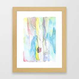 Dreams about Falling 2 Framed Art Print