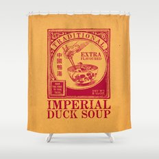 Imperial Duck Soup Shower Curtain