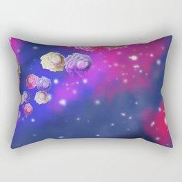 Galaxy Roses Rectangular Pillow