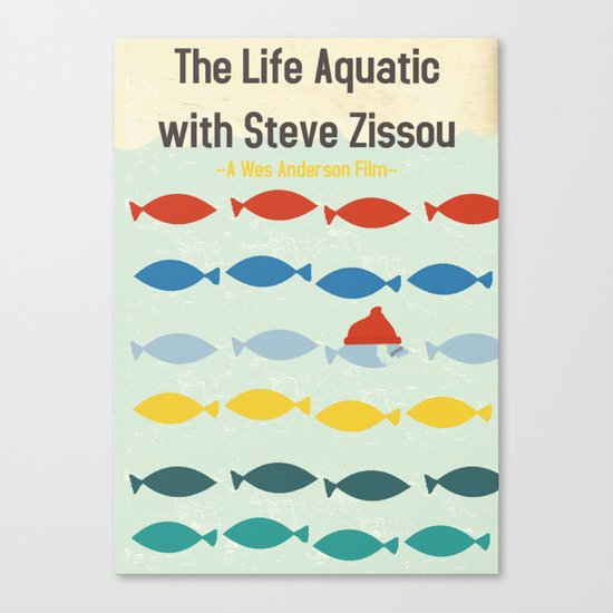 """The Life Aquatic""  Canvas Print"
