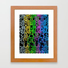 Angie Framed Art Print