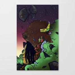 Buffalo Queen Canvas Print