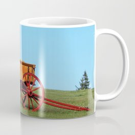 Wagon on a Hill Coffee Mug
