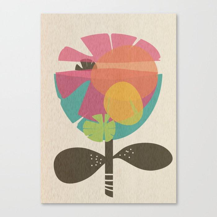 La Flor Canvas Print