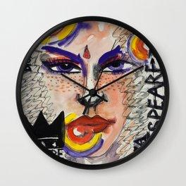 Broken Target McBeth Wall Clock