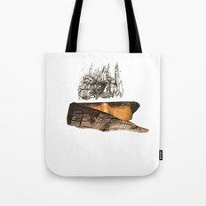 Veil V Tote Bag