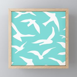Migration Framed Mini Art Print