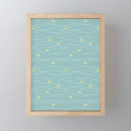 In the Waves Framed Mini Art Print