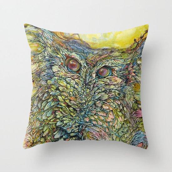 Love Bird II Throw Pillow
