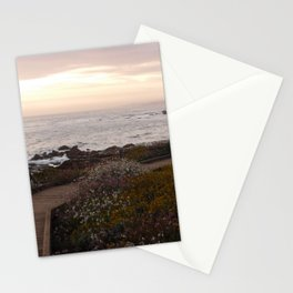 On the right path - Wildflowers bloom for those in love Stationery Cards