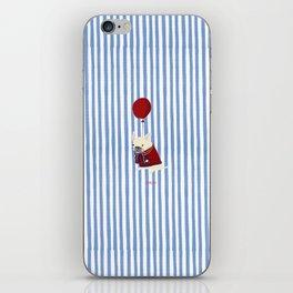 French Bulldog with Stripe iPhone Skin