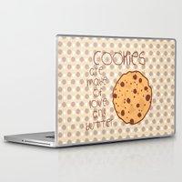 cookies Laptop & iPad Skins featuring Cookies by Mim sh.