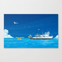 RV Calypso Canvas Print