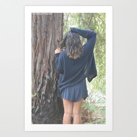 Forest Loving Art Print