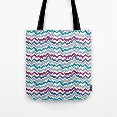 Abstract Mountain Pattern Tote Bag