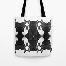 Lulo's evil look. Tote Bag