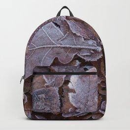 Fallen Oak Leaves Autumn Scene #decor #society6 #buyart Backpack