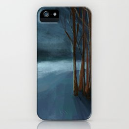 Endless Night Landscape iPhone Case