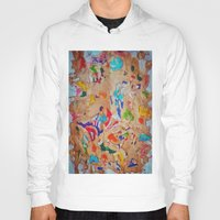 egyptian Hoodies featuring Egyptian papyrus by Sandra Angelini