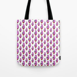Angry Chibs Soft Serve Ice Cream Tote Bag