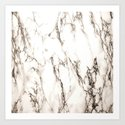 Brown Veined Marble by leatherwooddesign