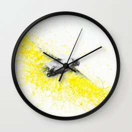 Kakadu Cockatoo Wall Clock