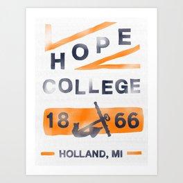 Hope College Art Print