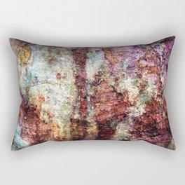 Multicolored Rust rustic decor Rectangular Pillow