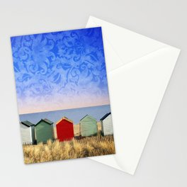 Beach Huts at Southwold (Suffolk/Great Britain) Stationery Cards