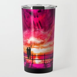 Sunset darkness Travel Mug