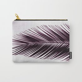 plant texture of palm tree. ultra violet color Carry-All Pouch