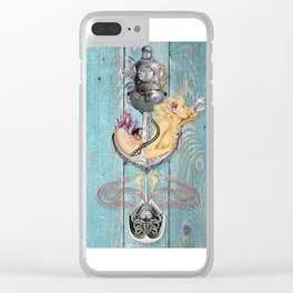 The Salty Brine Clear iPhone Case
