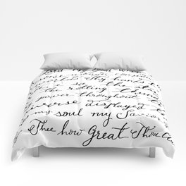 How Great Thou Art. Comforters
