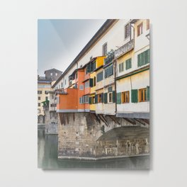 Ponte Vecchio Firenze Florence Tuscany Italy Metal Print