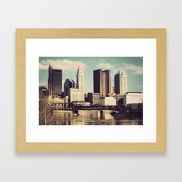 Columbus Ohio 4 Framed Art Print