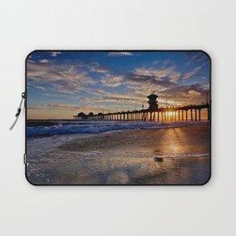 Huntington Beach Sunsets  9/12/15    Huntington Beach Pier, Ca Laptop Sleeve