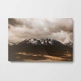 Fall Mountains Metal Print