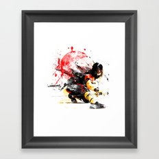 Ninja Japan Framed Art Print